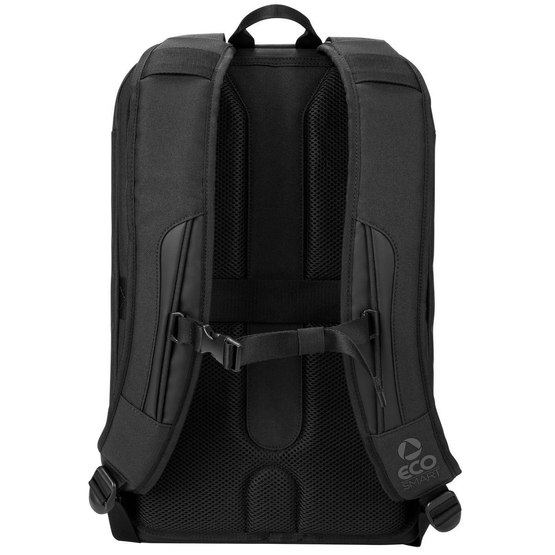 Backside of Targus Eco Backpack