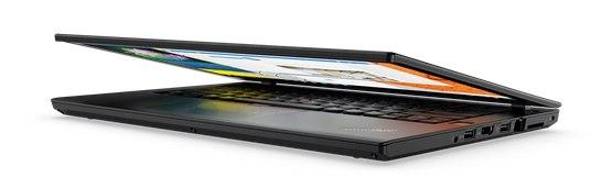 Lenovo T470 Notebook halvlukket