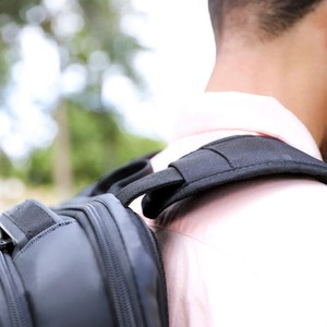 Targus Backpack worn on man.