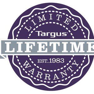 Targus Lifetime Warranty Logo