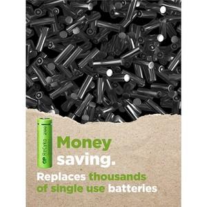 GP ReCyko D-batteri, 5700 mAh, 2-pack